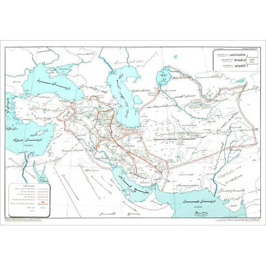 نقشه-ایران-در-زمان-جانشینان-تیمور-،-آق-قویونلو-و-قره-قویونلو