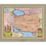 نقشه-ایران-در-زمان-حکومت-صفویان