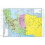 نقشه-ایران-در-زمان-زندیه-و-جانشینان-نادر-جلد-۱۲