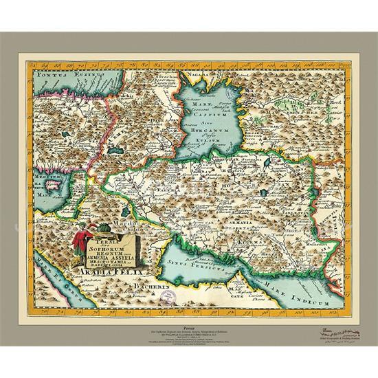 نقشه-ایران-کهن-۱۶۸۰-میلادی
