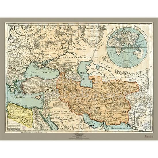 نقشه-تاریخی-ایران-۱۷۰۵-میلادی