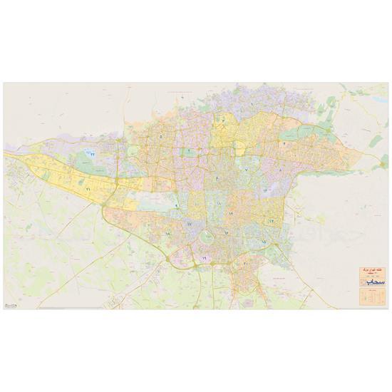 نقشه-تهران-بزرگ—جغرافیایی-سحاب