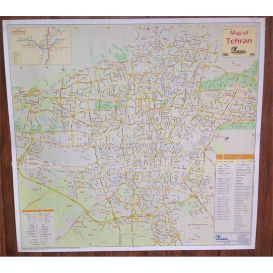 نقشه-تهران-به-زبان-انگلیسی-۱-متری