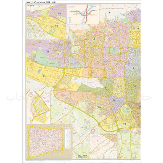 نقشه-تهران-۲۲-منطقه—دورو