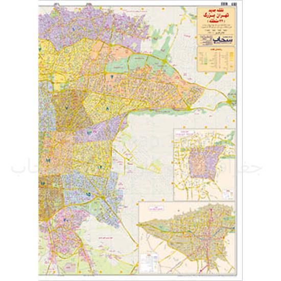 نقشه-تهران-۲۲-منطقه—دورو۱