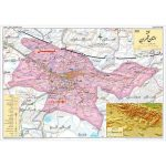نقشه-جغرافیائی-استان-تهران