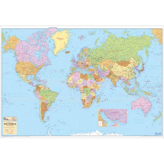 نقشه-جهان-نمای-سیاسی-۲-متری