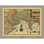 نقشه-خلیج-فارس-آسیای-جنوب-غربی-۱۵۹۶-میلادی