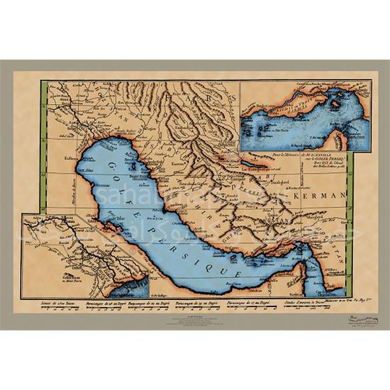 نقشه–خلیج-فارس-۱۷۷۰-میلادی