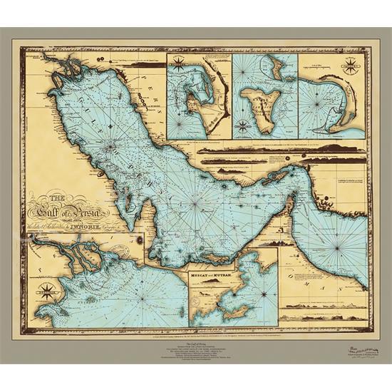 نقشه-خلیج-فارس-۱۸۳۳-میلادی