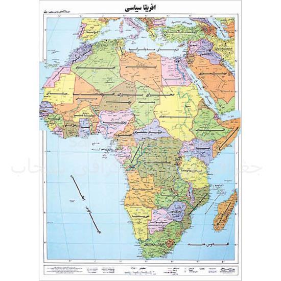 نقشه–قاره-آفریقا-سیاسی—-ونشو