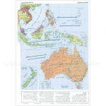 نقشه-قاره-استرالیا-(اقیانوسیه)-طبیعی-و-سیاسی-۵۰-۳۵