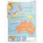 نقشه-قاره-اقیانوسیه-سیاسی-۱-متری