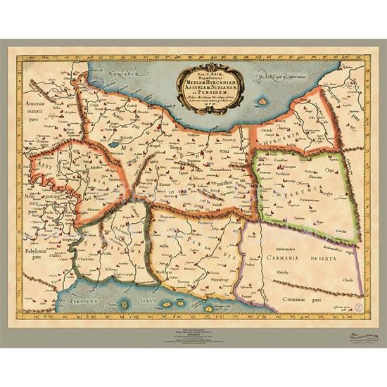 نقشه-قطعه-پنجم-آسیا-۱۵۷۸-میلادی