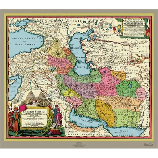 نقشه-پادشاهی-ایران-۱۷۲۰-میلادی