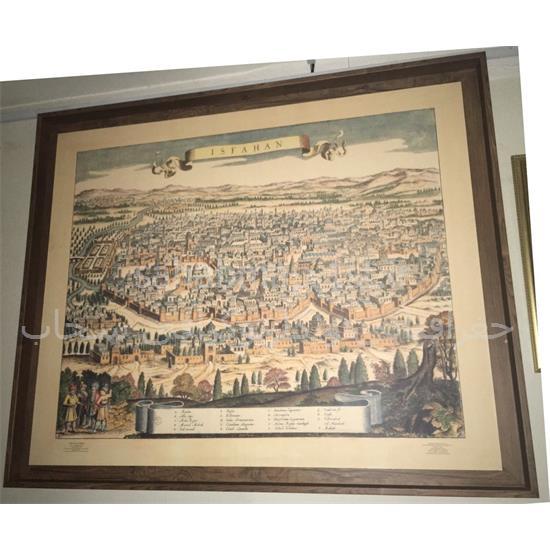 نقشه-پاناروما-شهر-اصفهان-سال-۱۶۵۷-میلادی