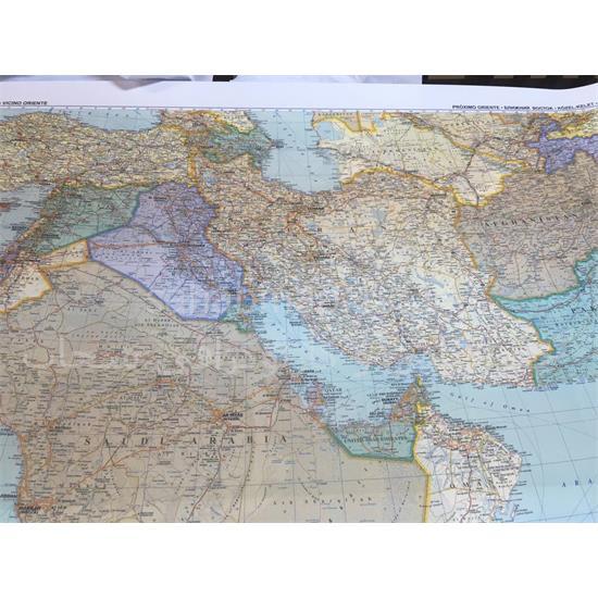 نقشه-کشورهای-خاورمیانه-و-ایران-(Mddel-East)