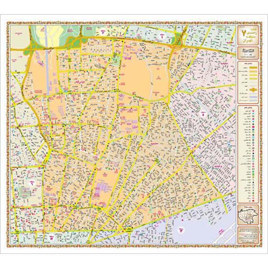 نقشه-۲۲-منطقه-تهران-بزرگ–نقشه-یکرو۱