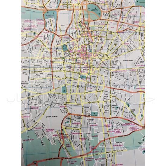 نقشه-توریستی-شهر-تهران-به-زبان-انگلیسی (۲)
