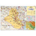نقشه-سیاسی-و-طبیعی-عراق