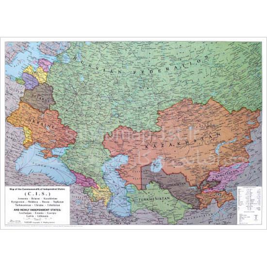 نقشه-کشورهای-مشترک-المنافع-(CIS)