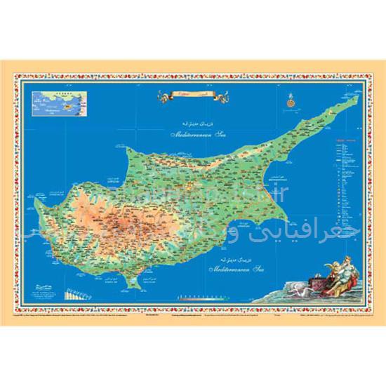 نقشه-گردشگری-قبرس—Cyprus