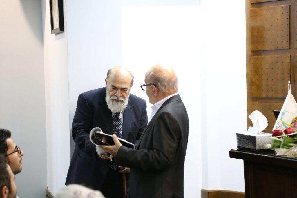 استاد محمود ذوالفقاری و استاد محمدرضا سحاب