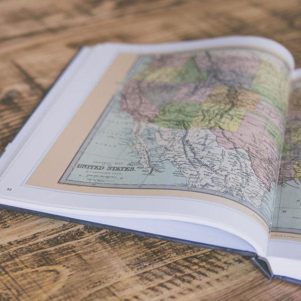 نقشه های قاره ها