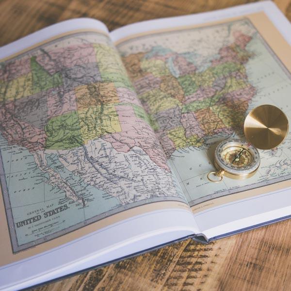 نقشه های طبیعی جهان